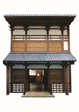 Японский павильон, в нем будет проходить мастер-класс по игре Го.